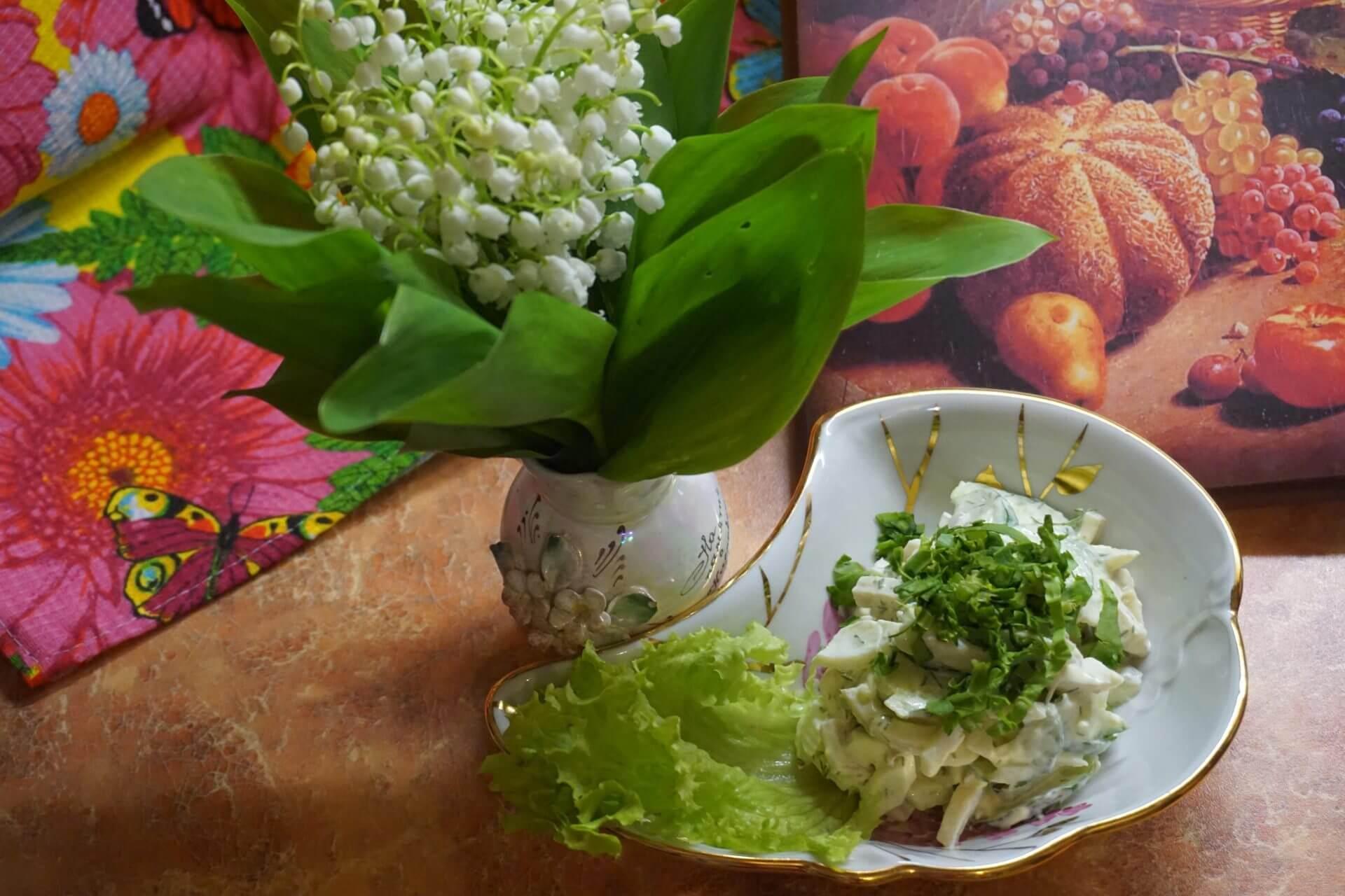 Салат с кальмаром рецепты приготовления