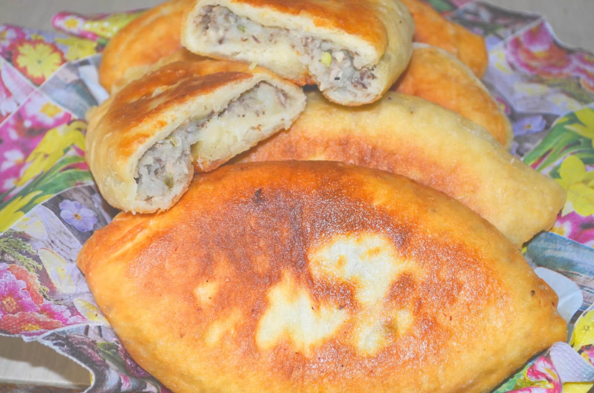 Пирожки с сайрой
