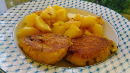 Картофельный гарнир к котлетам
